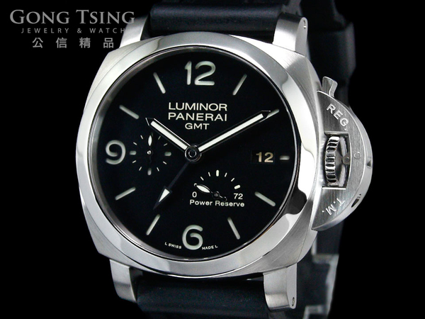 沛納海男錶  (PANERAI)  PAM321 LUMINOR 1950 GMT 3日鍊